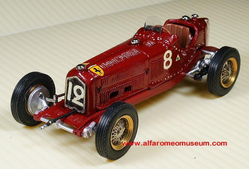P Monoposto Alfa Romeo Model Car Museum - Alfa romeo model cars