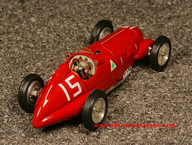 1938 ] GP 12C/38 Type 312 No. 15 ( 1/43 ) « Alfa Romeo Model Car ...