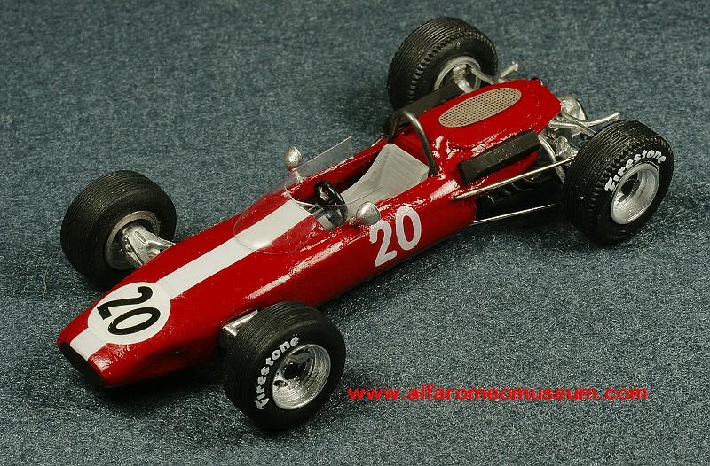 [1965] Alfa Special – P. Deklerk ( 1/43 ) | Alfa Romeo Model Car Museum