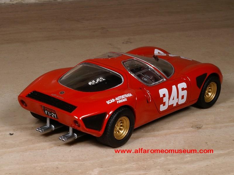 1967 Tipo 33 Stradale Scar Autostrada No 346 1 43