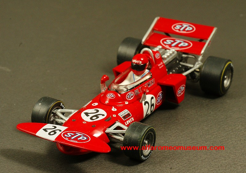1971 March 711 4 Stp No 26 Niki Lauda Austrian Gp