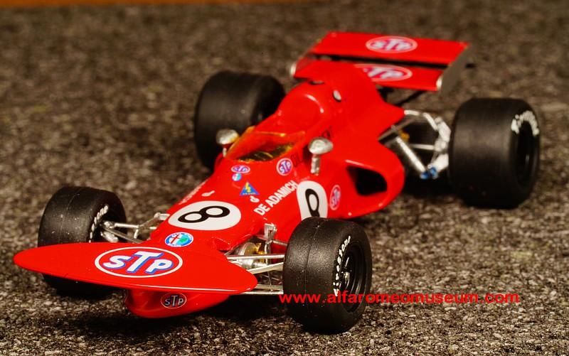 Alfa Romeo Disco Volante >> [ 1971 ] March 711/1 – South Africa GP – No. 8 – De ...
