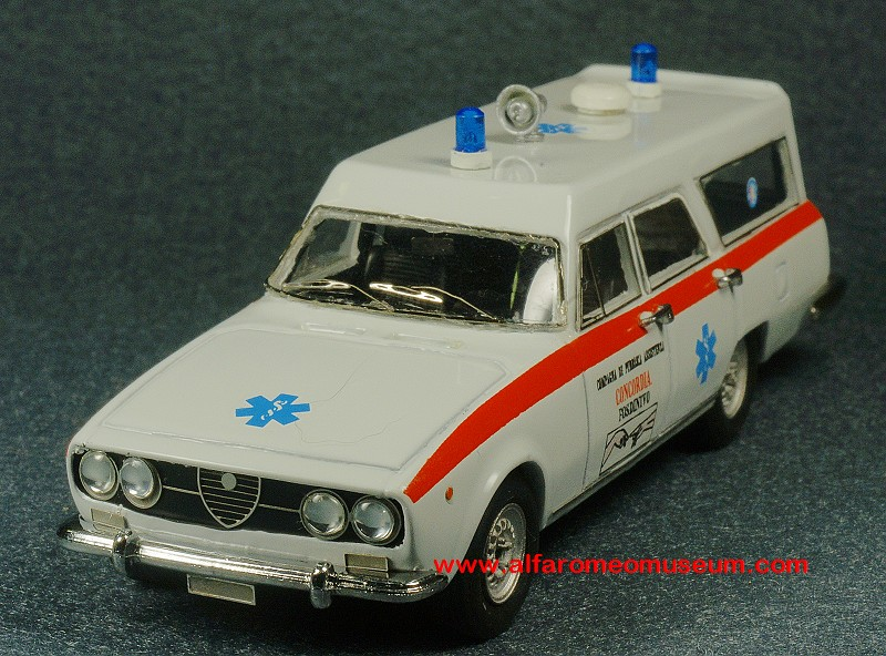 Ar Alfetta Berlina Ambulance Sc