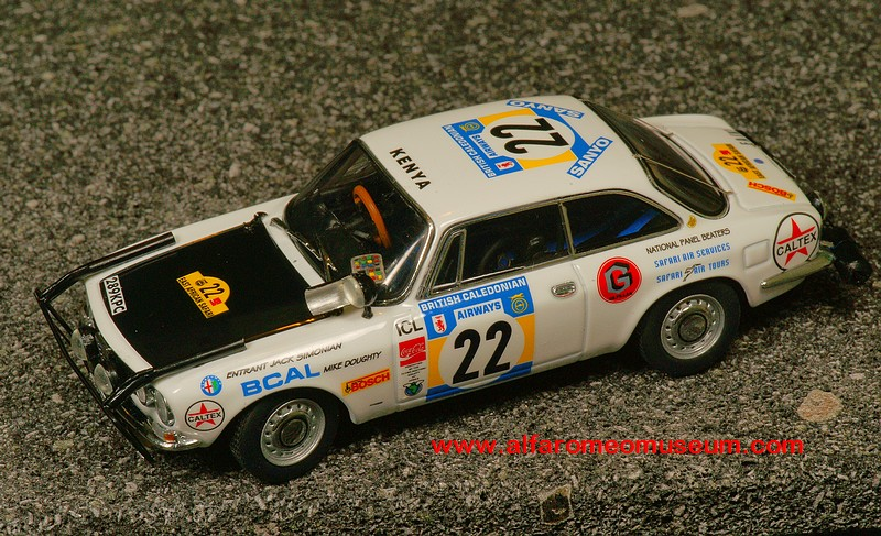 [ 1973 ] Giulia Sprint 1750 GT - Rally Safari ( 1/43 ...