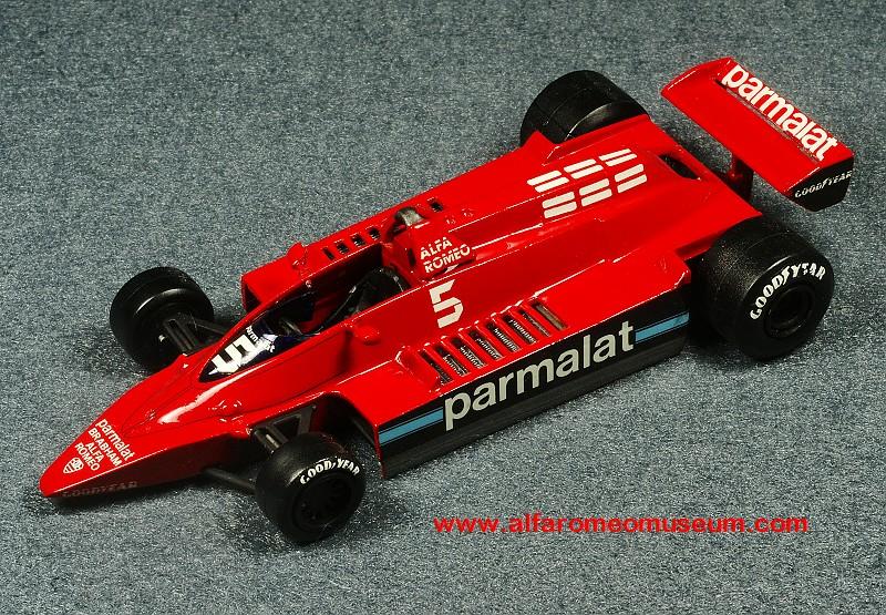 [1978] Brabham BT48 ( 1/43 ) « Alfa Romeo Model Car Museum