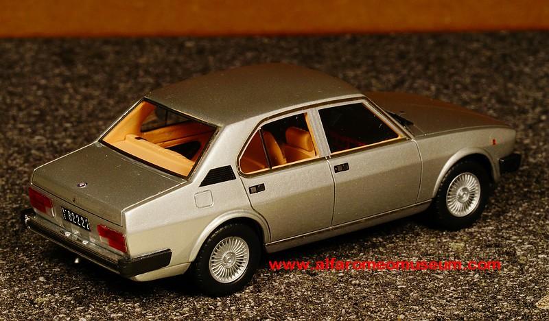 [ 1980 ] Alfetta 2000 Berlina ( 1/43 ) « Alfa Romeo Model ...