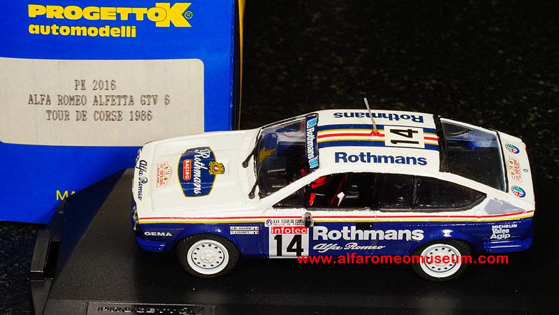 Ar Alfetta Gtv Rothmans Tour De Corse Sc