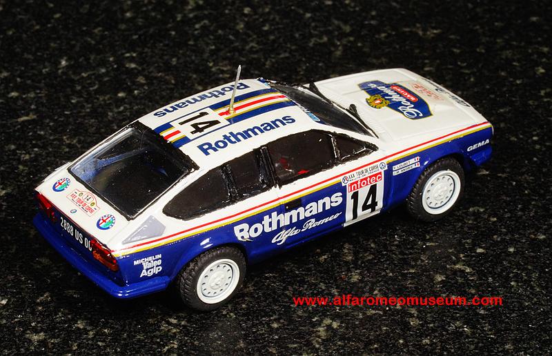 Ar Alfetta Gtv Rothmans Tour De Corse Sc on 1992 Alfa Romeo Spider