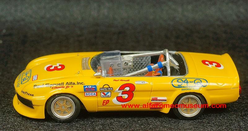 [1986] Spider III 2000 SCCA ( 1/43 ) « Alfa Romeo Model ...