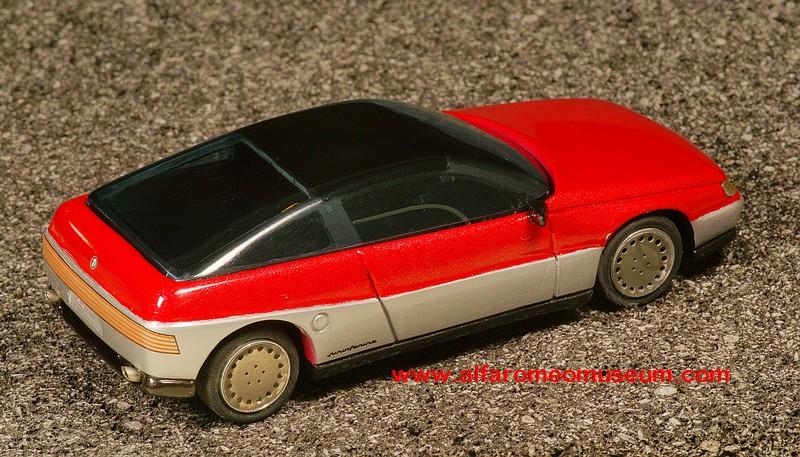 [ 1986 ] Vivace Coupe Pininfarina ( 1/43 ) « Alfa Romeo Model Car Museum