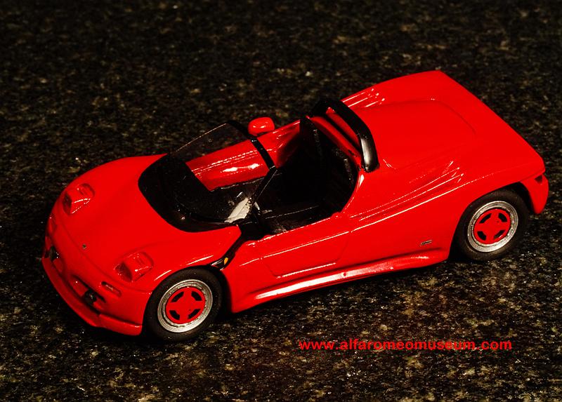 Ar Michelotti Pura Spider Sc on Alfa Romeo Spider 1988