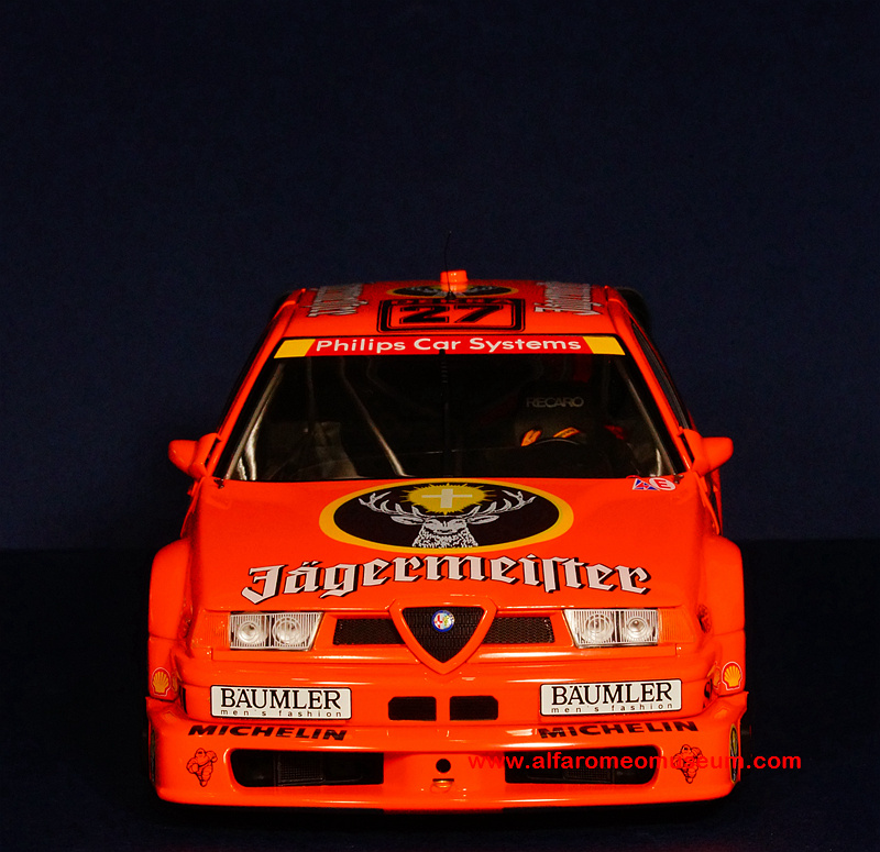 1994 155 dtm jagermeister bartels 1 18 alfa romeo model car museum. Black Bedroom Furniture Sets. Home Design Ideas