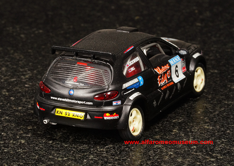 [ 2003 ] 147 GTA Rally – Steve Hill ( 1/43 ) | Alfa Romeo ...