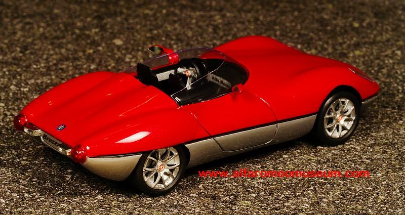 Details about  /#129 AlfaRomeo BREZZA Spider concept  1:43 YOW MODELLINI scale model kit