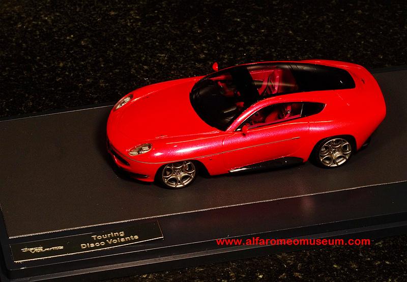 2012 Disco Volante Touring Superleggera 143 Alfa Romeo
