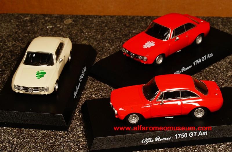 [ 1970 ] Giulia Sprint 1750 GTAm ( 1/64 ) « Alfa Romeo Model Car Museum