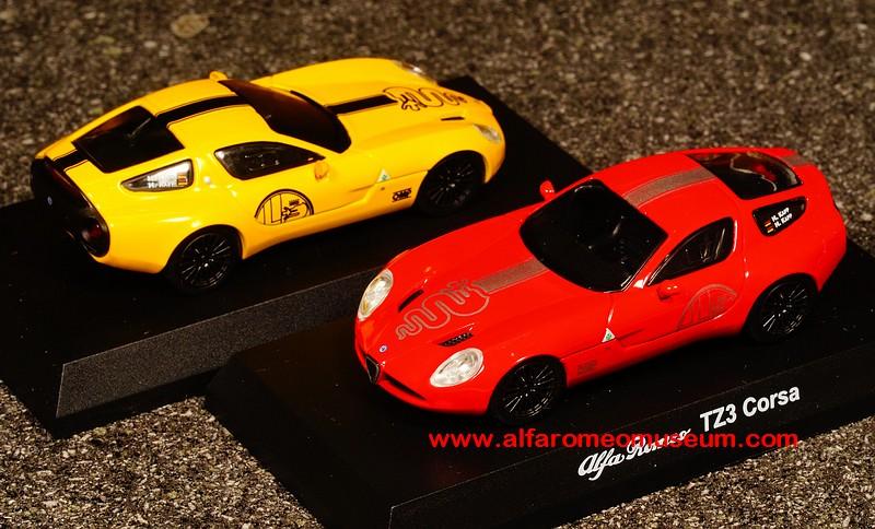 [ 2010 ] TZ3 Corsa Zagato ( 1/64 ) « Alfa Romeo Model Car Museum