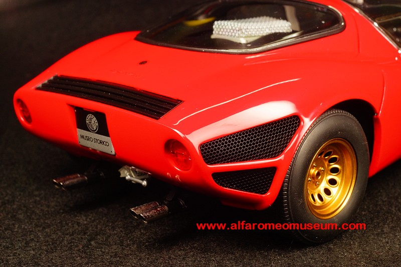 [ 1967 ] Tipo 33 Stradale Prototipo ( 1/18 ) « Alfa Romeo ...