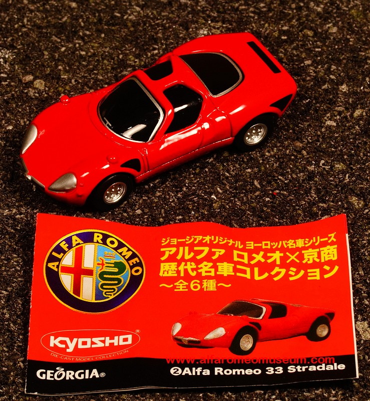 [ 1967 ] Tipo 33 Stradale ( 1/72 )