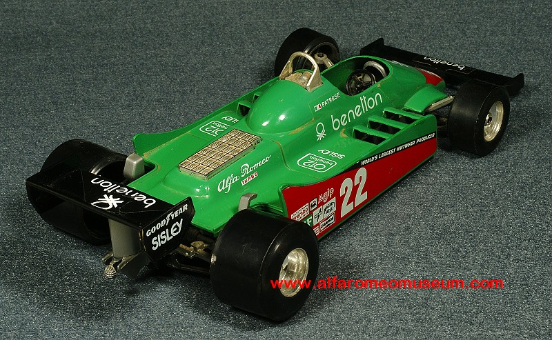 1980] 179 F1 Benetton 1/24   Alfa Romeo Model Car Museum