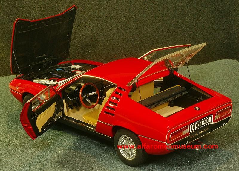 Alfa Romeo Model Car Museum » [1970] Montreal V8 ( 1/18 )
