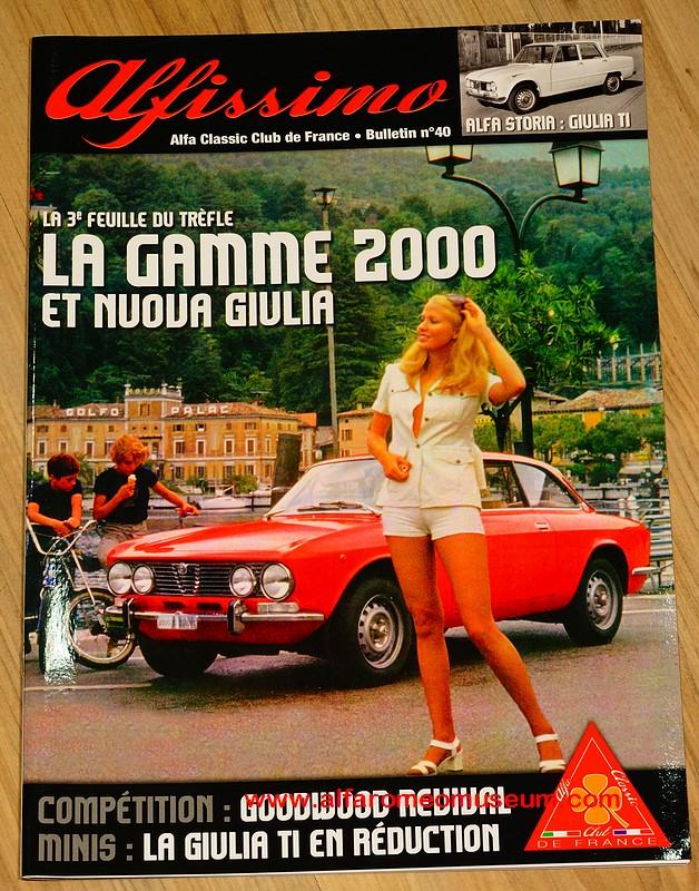 book alfissimo magazine alfa classic club de france alfa romeo model car museum. Black Bedroom Furniture Sets. Home Design Ideas