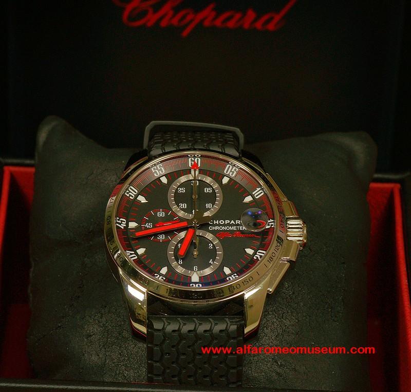 [ Watches ] Chopard GT XL Chrono Alfa Romeo 100 Yrs